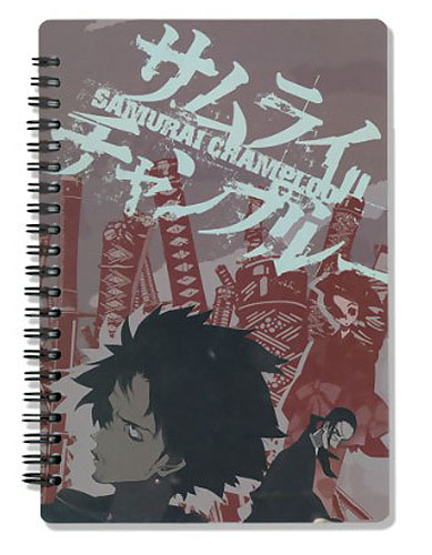 Samurai Champloo Crew Notebook, an officially licensed product in our Samurai Champloo Stationery department.