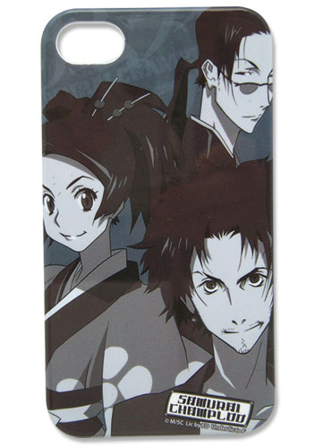 Samurai Champloo Crew Iphone 4 Case, an officially licensed product in our Samurai Champloo Costumes & Accessories department.