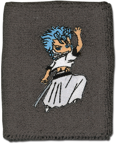 Bleach Grimmjow Wristband, an officially licensed Bleach product at B.A. Toys.