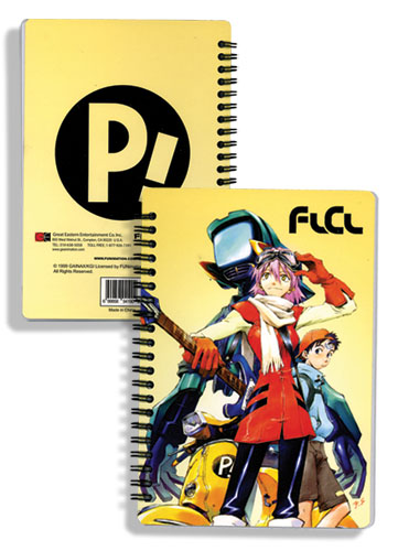 Flcl Crew Notebook, an officially licensed FLCL Stationery