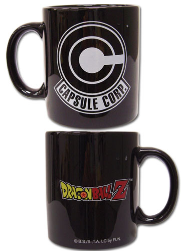 Dragon Ball Z Capsule Corp Mug, an officially licensed Dragon Ball Z product at B.A. Toys.