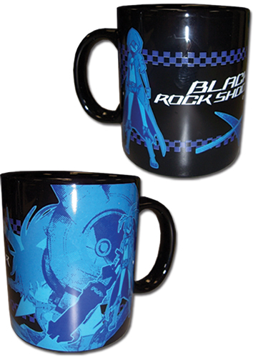 Black Rock Shooter - Brs Mug, an officially licensed Black Rock Shooter product at B.A. Toys.