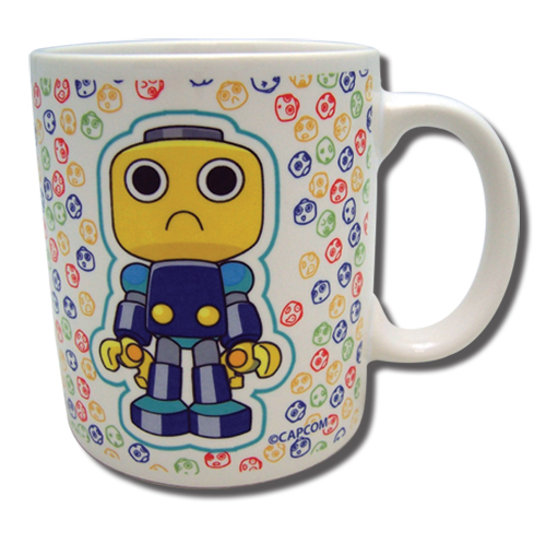 Servbot - Servbot Mug officially licensed Mega Man Mugs & Tumblers product at B.A. Toys.