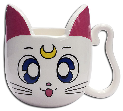 Sailor Moon - Artemis Mug officially licensed Sailor Moon Mugs & Tumblers product at B.A. Toys.