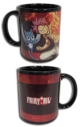 Fairy Tail - S7 Natsu & Happy Mug, an officially licensed product in our Fairy Tail Mugs & Tumblers department.