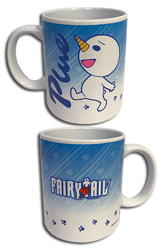 Fairy Tail - S7 Plue Mug, an officially licensed product in our Fairy Tail Mugs & Tumblers department.