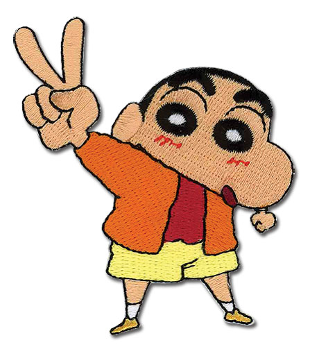 Shin Chan Peace Out Patch, an officially licensed product in our Shin Chan Patches department.
