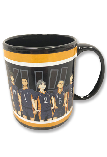 Haikyu!! - Karasuno Group Mug, an officially licensed product in our Haikyu!! Mugs & Tumblers department.
