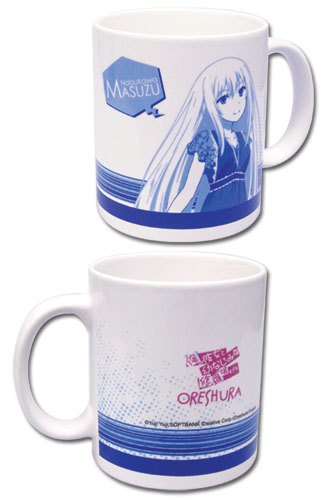 Oreshura Masuzu Mug officially licensed Oreshura Mugs & Tumblers product at B.A. Toys.