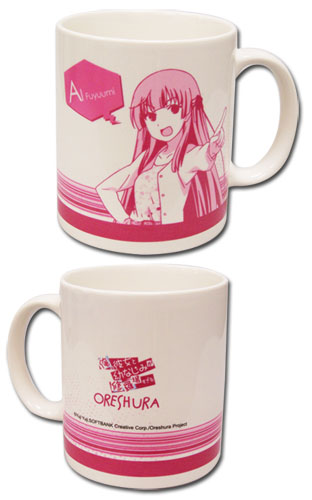 Oreshura Ai Mug officially licensed Oreshura Mugs & Tumblers product at B.A. Toys.