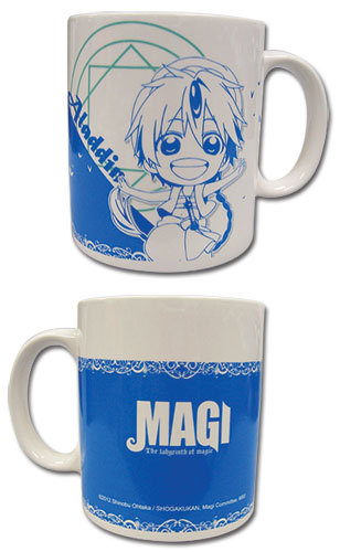 Magi - Aladdin Mug officially licensed Magi Mugs & Tumblers product at B.A. Toys.