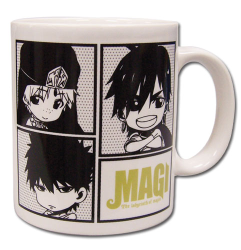 Magi - Sinbad, Jafar & Masrur Sd Mug, an officially licensed product in our Magi Mugs & Tumblers department.
