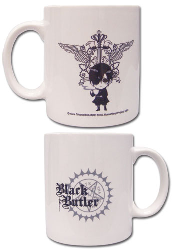 Black Butler Icon Mug officially licensed Black Butler Mugs & Tumblers product at B.A. Toys.