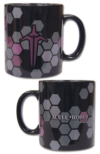 Accel World - Nege Nebulous Icon Mug officially licensed Accel World Mugs & Tumblers product at B.A. Toys.