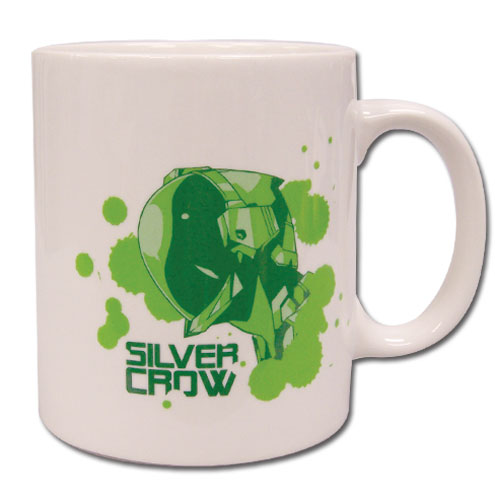 Accel World Silver Crow Mug, an officially licensed Accel World product at B.A. Toys.