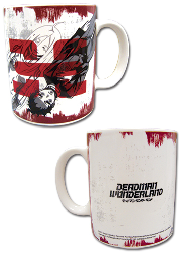 Deadman Wonderland Ganta & Shiro Mug, an officially licensed Deadman Wonderland Mug / Tumbler