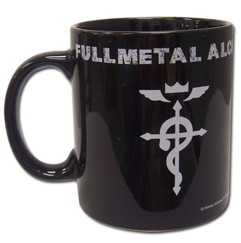 Full Metal Alchemist Brotherhood Icon Mug officially licensed Fullmetal Alchemist Mugs & Tumblers product at B.A. Toys.
