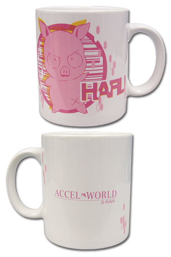 Accel World - Haru Mug, an officially licensed Accel World product at B.A. Toys.