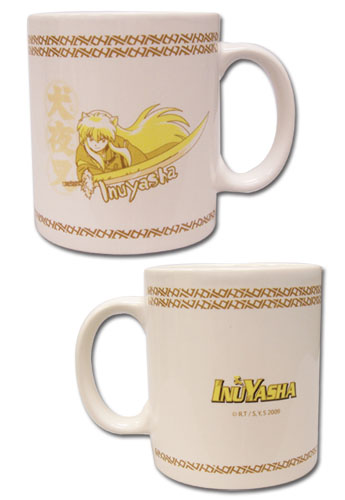 Inuyasha Mug, an officially licensed product in our Inuyahsa Mugs & Tumblers department.