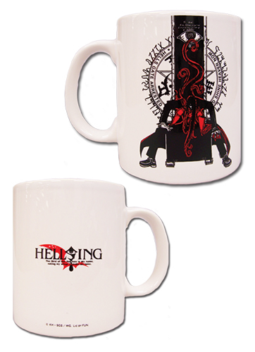 Hellsing Ultimate - Alucard Mug officially licensed Hellsing Mugs & Tumblers product at B.A. Toys.