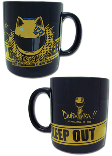 Durarara - Celt Helmet Black Mug officially licensed Durarara!! Mugs & Tumblers product at B.A. Toys.