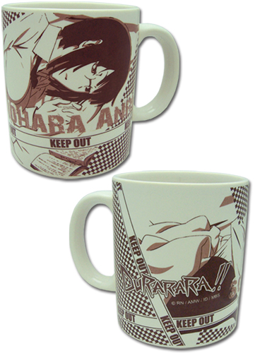 Durarara - Sonohara Anri Mug, an officially licensed product in our Durarara!! Mugs & Tumblers department.
