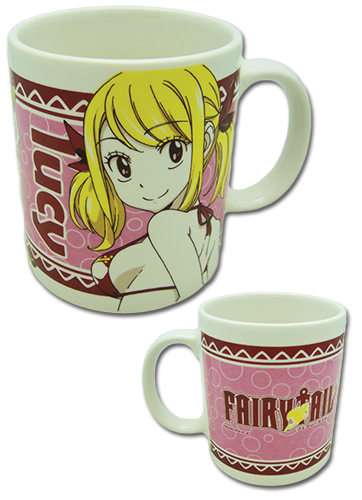 Fairy Tail - Lucy Swimsuit Mug officially licensed Fairy Tail Mugs & Tumblers product at B.A. Toys.