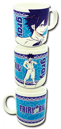 Fairy Tail - Gray Swimsuit Mug officially licensed Fairy Tail Mugs & Tumblers product at B.A. Toys.