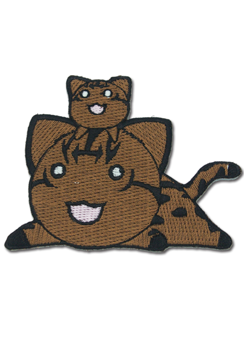 Azumanga Daioh Wild Kitty Patch, an officially licensed Azumanga product at B.A. Toys.