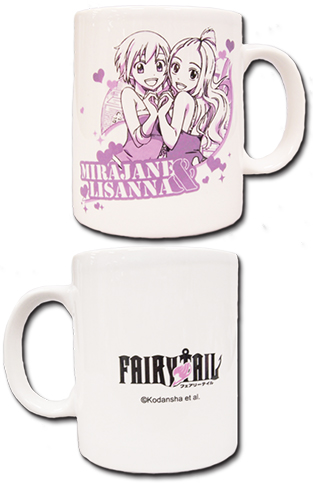 Fairy Tail - Mirajane & Lisanna Mug officially licensed Fairy Tail Mugs & Tumblers product at B.A. Toys.
