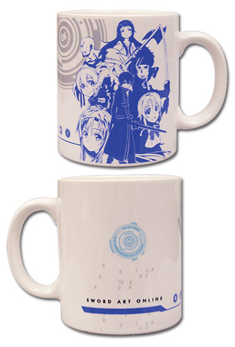 Sword Art Online - Group Mug officially licensed Sword Art Online Mugs & Tumblers product at B.A. Toys.