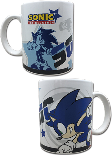 Sonic The Hedgehog - Sonic Mug officially licensed Sonic Mugs & Tumblers product at B.A. Toys.