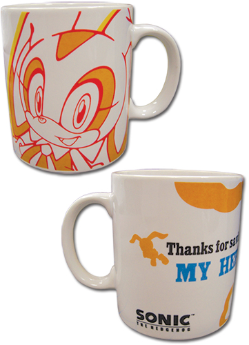Sonic The Hedgehog - Cream The Rabbit Mug officially licensed Sonic Mugs & Tumblers product at B.A. Toys.