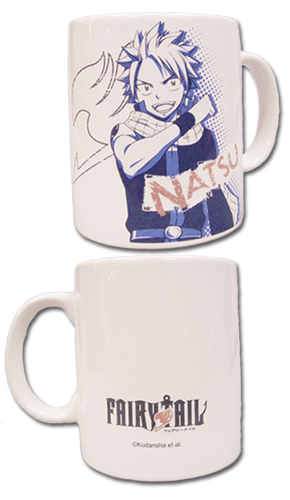 Fairy Tail - Natsu Mug, an officially licensed Fairy Tail product at B.A. Toys.