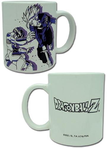 Dragon Ball Z - Mechafrieza Vs. Trunks Mug, an officially licensed Dragon Ball Z Mug / Tumbler