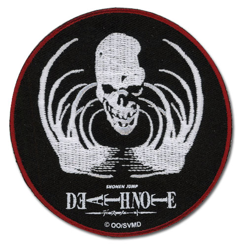 Death Note Bone Patch, an officially licensed product in our Death Note Patches department.
