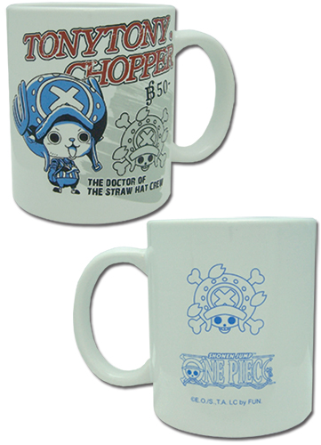 One Piece - Chopper Mug officially licensed One Piece Mugs & Tumblers product at B.A. Toys.