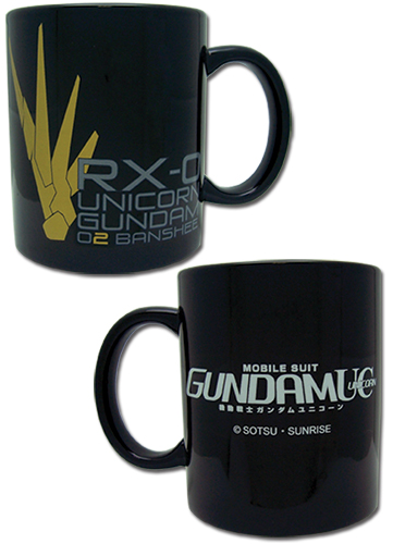 Gundam Uc - Banshee Mug, an officially licensed product in our Gundam Uc Mugs & Tumblers department.