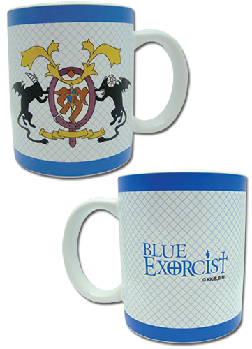 Blue Exorcist - True Cross Order Mug, an officially licensed product in our Blue Exorcist Mugs & Tumblers department.