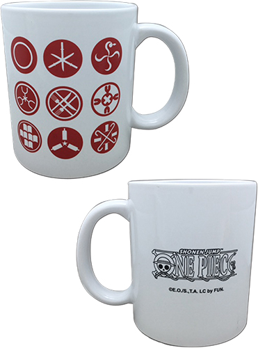 One Piece - Hanko Mug officially licensed One Piece Mugs & Tumblers product at B.A. Toys.