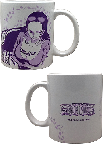 One Piece - Robin Mug, an officially licensed product in our One Piece Mugs & Tumblers department.