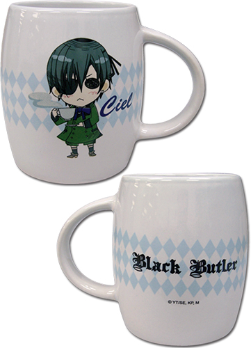 Black Butler - Sd Ciel Mug, an officially licensed product in our Black Butler Mugs & Tumblers department.