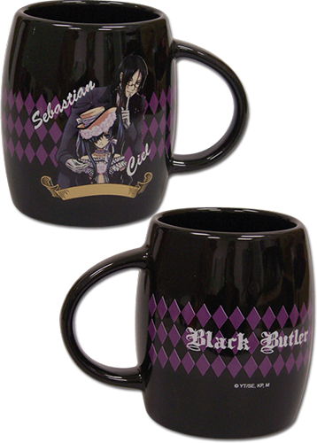Black Butler - Sebastian & Ciel Mug officially licensed Black Butler Mugs & Tumblers product at B.A. Toys.