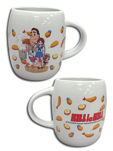 Kill La Kill - Mankanshoku Family With Food Mug officially licensed Kill La Kill Mugs & Tumblers product at B.A. Toys.