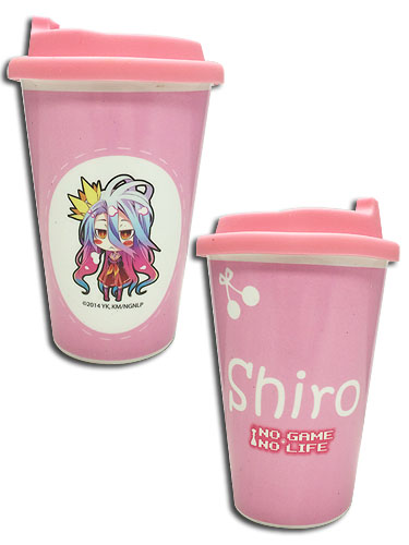 No Game No Life - Shiro With Cherry Mug, an officially licensed product in our No Game No Life Mugs & Tumblers department.