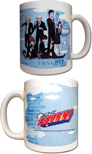 Reborn! - Vongole Family Mug officially licensed Reborn! Mugs & Tumblers product at B.A. Toys.