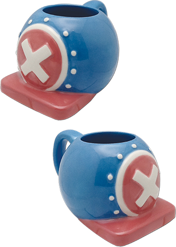 One Piece - Chopper'S Hat New World Special Shape Mug officially licensed One Piece Mugs & Tumblers product at B.A. Toys.