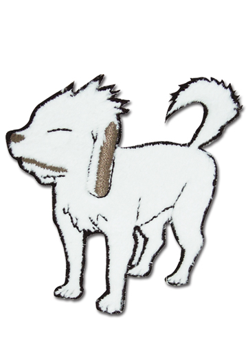 Naruto Akamaru Patch officially licensed product at B.A. Toys.