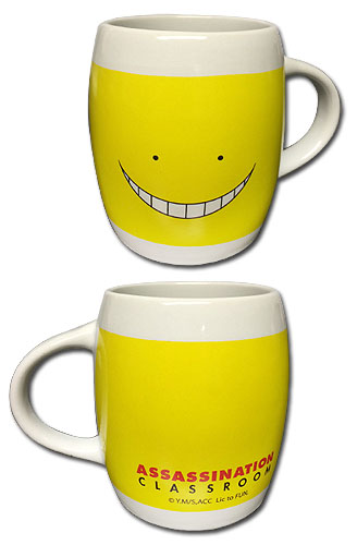 Assassination Classroom - Koro Face Mug, an officially licensed product in our Assassination Classroom Mugs & Tumblers department.