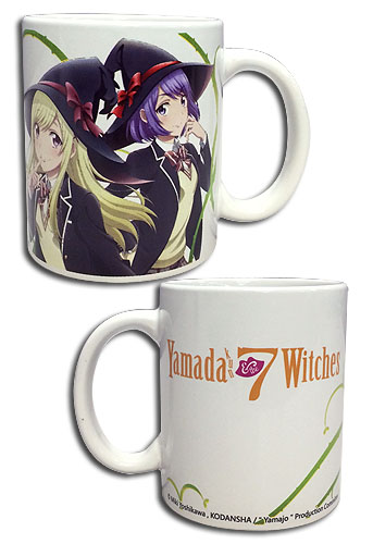 Yamada Kun - Urara & Nene Mug officially licensed Yamada-Kun And The Seven Witches Mugs & Tumblers product at B.A. Toys.